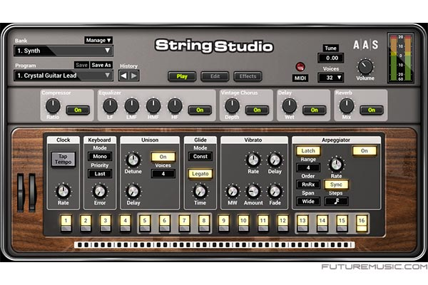 AAS String Studio VS2