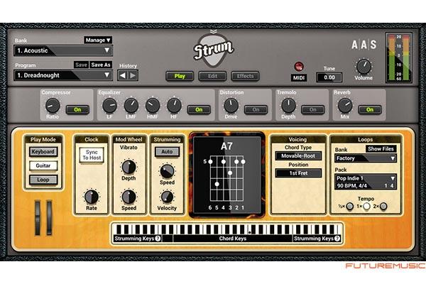 aas strum gs-2 plugin mac pc guitar emulator
