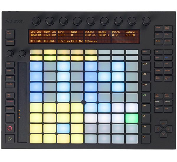 Ableton Push FutureMusic 2013 Gear Of The Year Winner - MIDI Controller