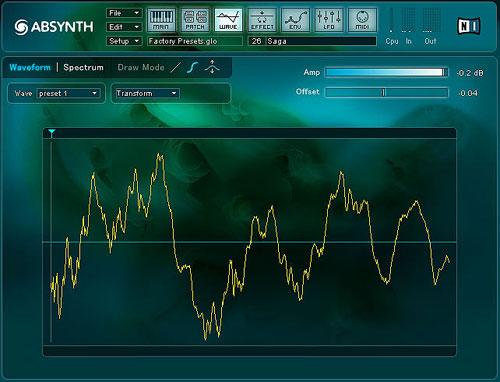 Absynth Waveform Window