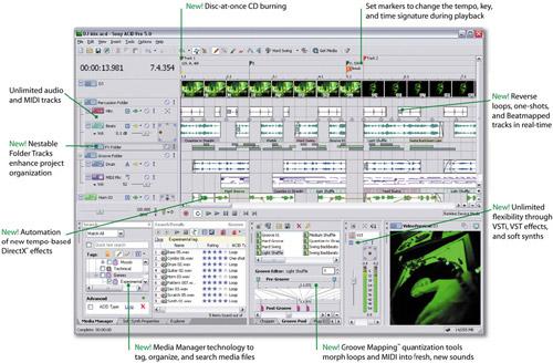 Acid Pro 5 screenshot