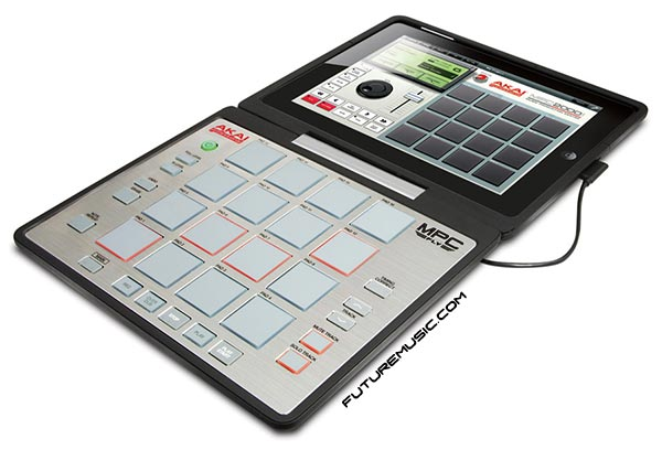 akai mpc fly lying flat