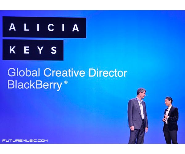 Alicia Keys Named Global Creative Director Of Blackberry