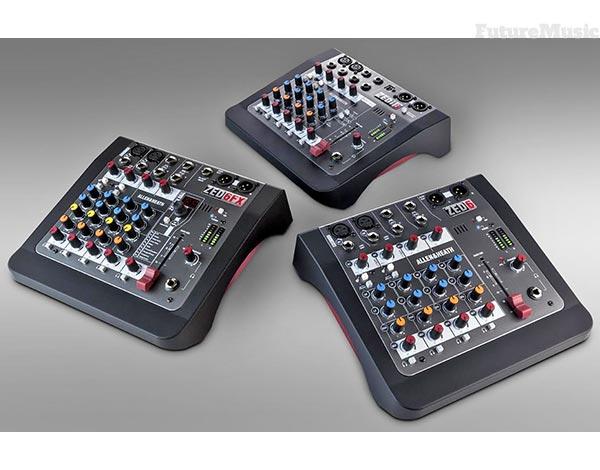 allen-heath zed mini mixers