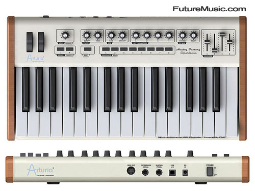 Arturia Analog Factory Experience Keyboard Controller
