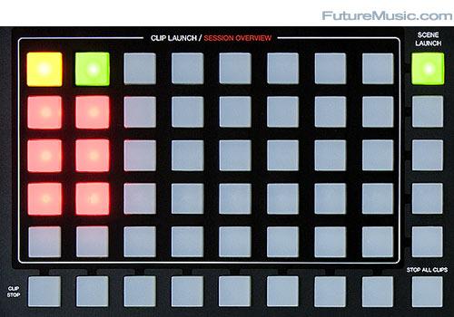 Akai APC40 review - Clip Matrix