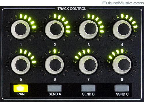 Akai APC40 Review Track Control Close-up