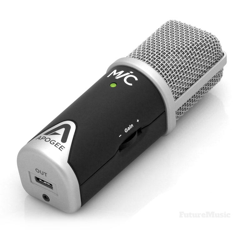 apogee mic96k future music