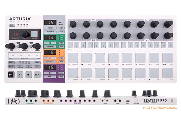 arturia debuts beatstep pro  u2013 controller  u0026 step sequencer