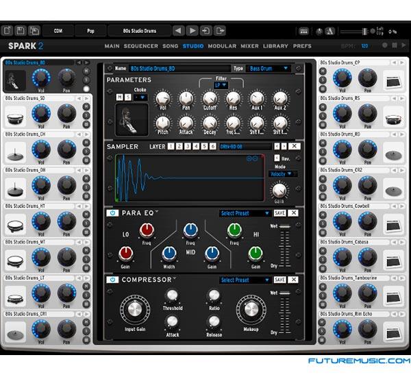 arturia-spark2-software