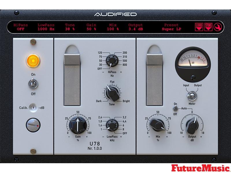 audified u78 saturator FutureMusic