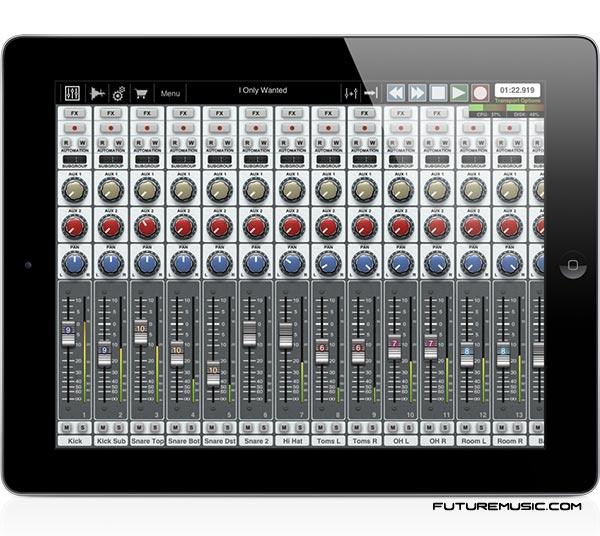 Auria iPad DAW
