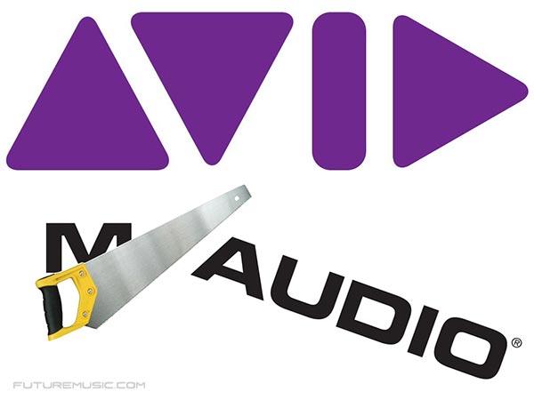 Avid Ditches M-Audio