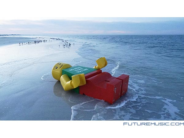 Weekend Fun: The Mystery Of The Beached, Giant Lego Minifig