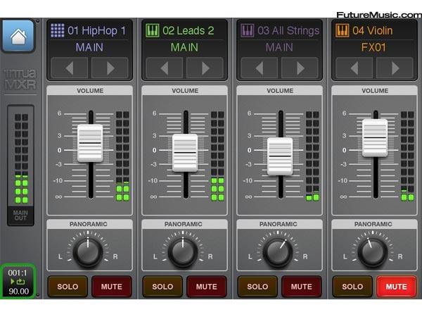 Beatmaker 2 - Mixer