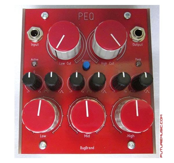 BugBrand Premiers PEQ Parametric Equalizer