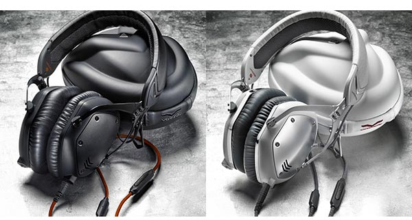Shadow and White Silver Color options for the V-Moda Crossfade M-100 headphones