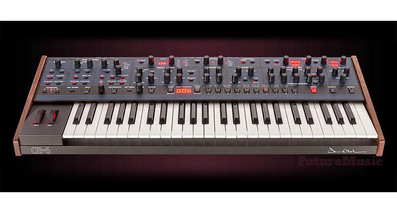 Dave Smith and Tom Oberheim OB-6 analog synth