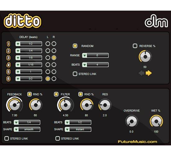 de la Mancha Releases Ditto Delay Plug-In