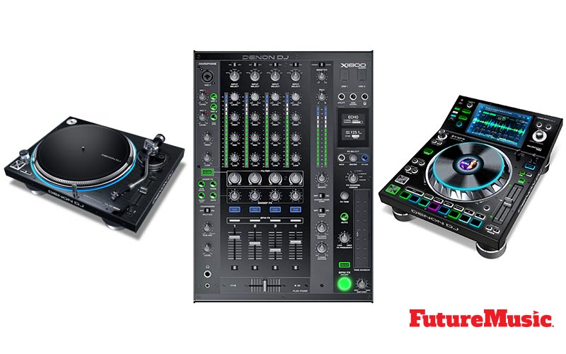 denon dj prime gear FutureMusic