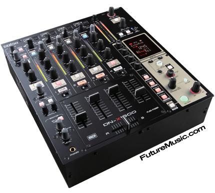 denon announces dn x1600 digital dj mixer with roland s v link futuremusic the latest news on. Black Bedroom Furniture Sets. Home Design Ideas