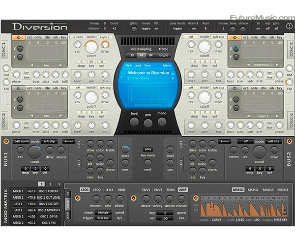 Dmitry Sches Premiers Diversion – VST Synth For Windows