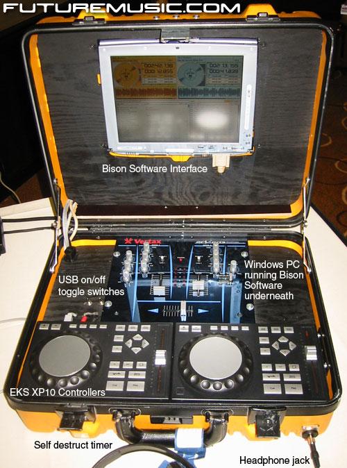 EKS James Bond DJ Suitcase