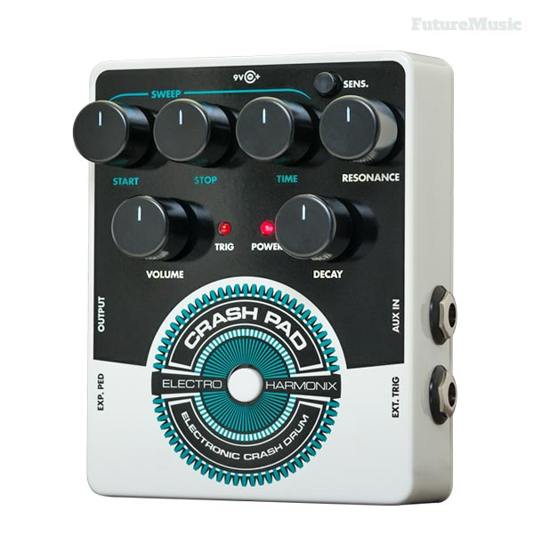 electro harmonix crash pad analog drum synth pedal