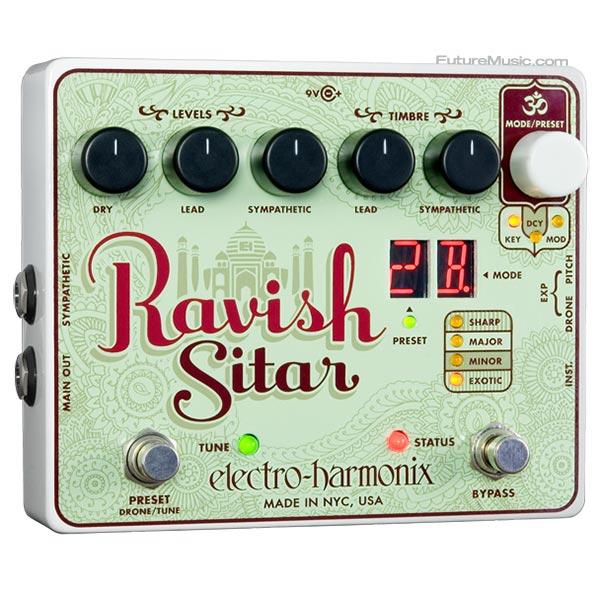 Electro-Harmonix Announces Ravish Sitar Pedal