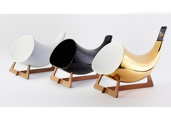 en&is Debuts MegaPhone – Passive Ceramic iPhone Dock
