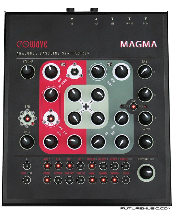 Eowave Announces Magma Analog Bass Synth