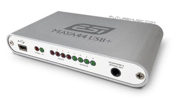 ESI Releases MAYA44 USB+ – Upgraded USB Audio Interface