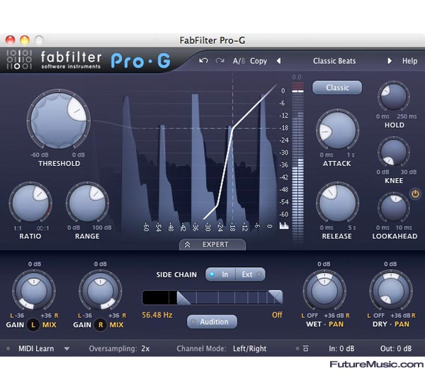 fabfilter pro-g expander gate