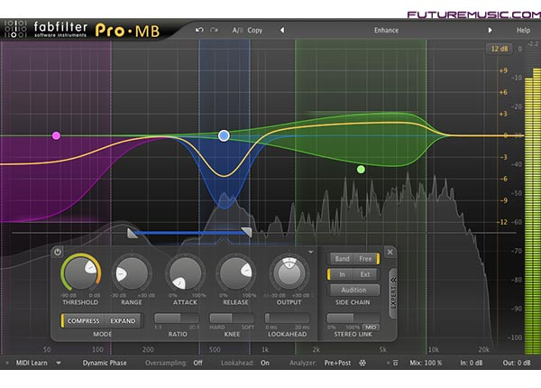 FabFilter Releases Innovative Pro-MB Multiband Compression & Expansion Plug-In