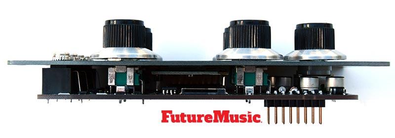 future-retro drum transient side view FutureMusic