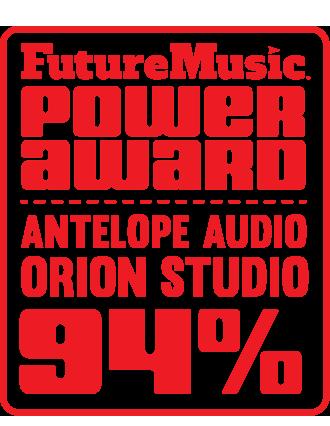 futuremusic antelope orion studio review - 94 rating