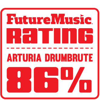 futuremusic arturia drumbrute review - 86 rating