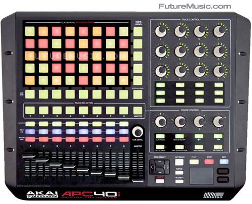 FutureMusic's Akai APC40 mkII