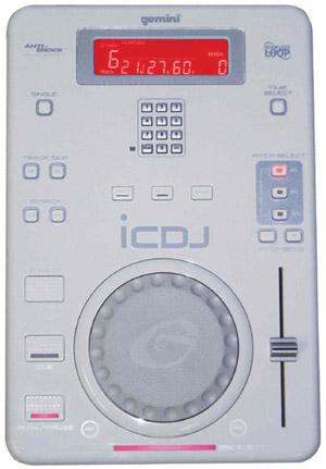 Gemini iCDJ CD Turntable