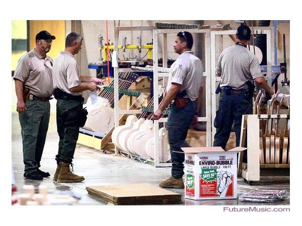 Gibson Factory Raid