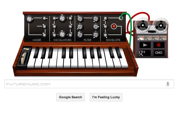 Google Celebrates Bob Moog's Birthday With Playable Minimoog