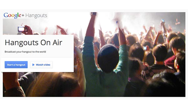 Google+ hangouts-on-air