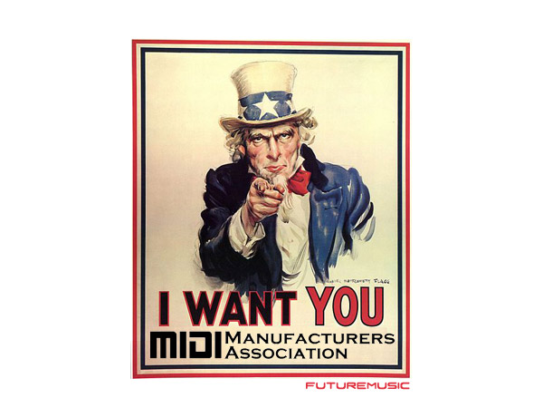 I want you to help the MIDI Manufacturers Association
