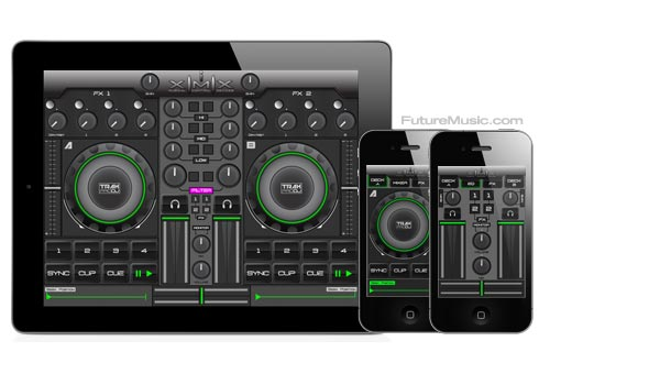 iXimix Premiers TrakProDJ & VTI Pro Controller Apps For iOS