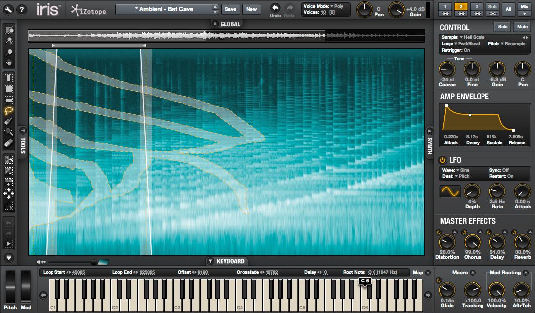 iZotope Releases Iris Visual Instrument