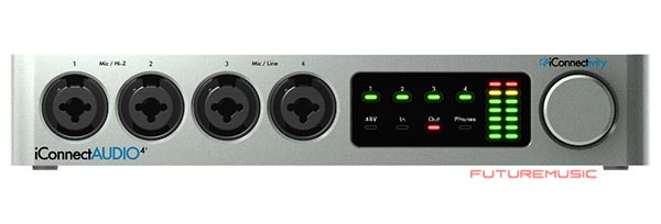iconnect audio 4 plus front