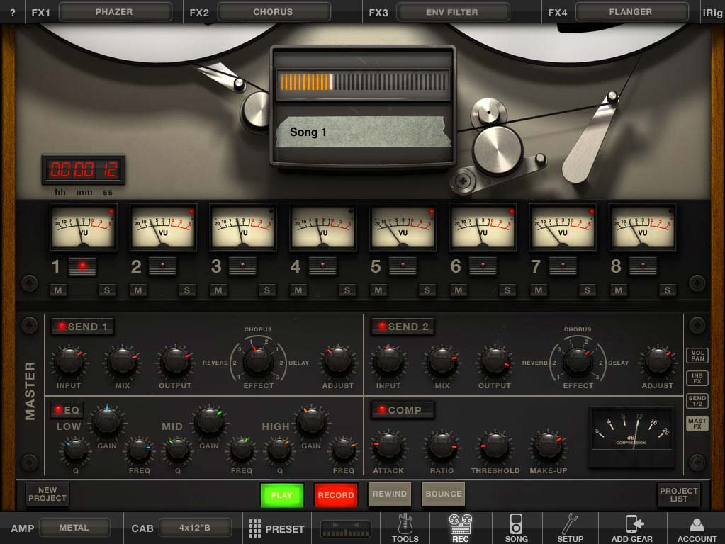 IK Multimedia Unleashes AmpliTube 2 For iPad