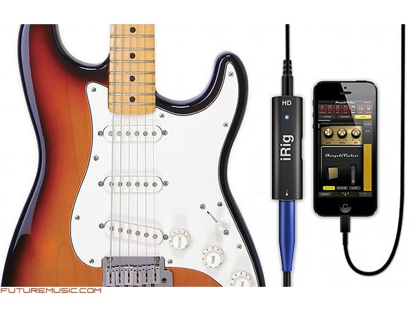 IK Multimedia Announces iRig HD