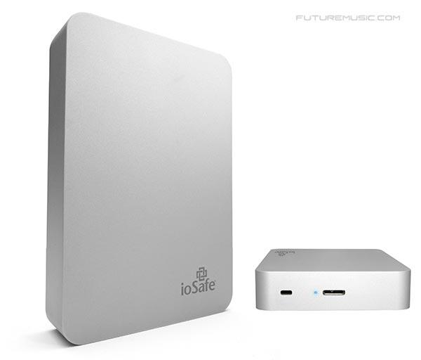 ioSafe Rugged Portable SSD Hard Drive