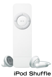 The Apple iPod Shuffle Flash Music Player